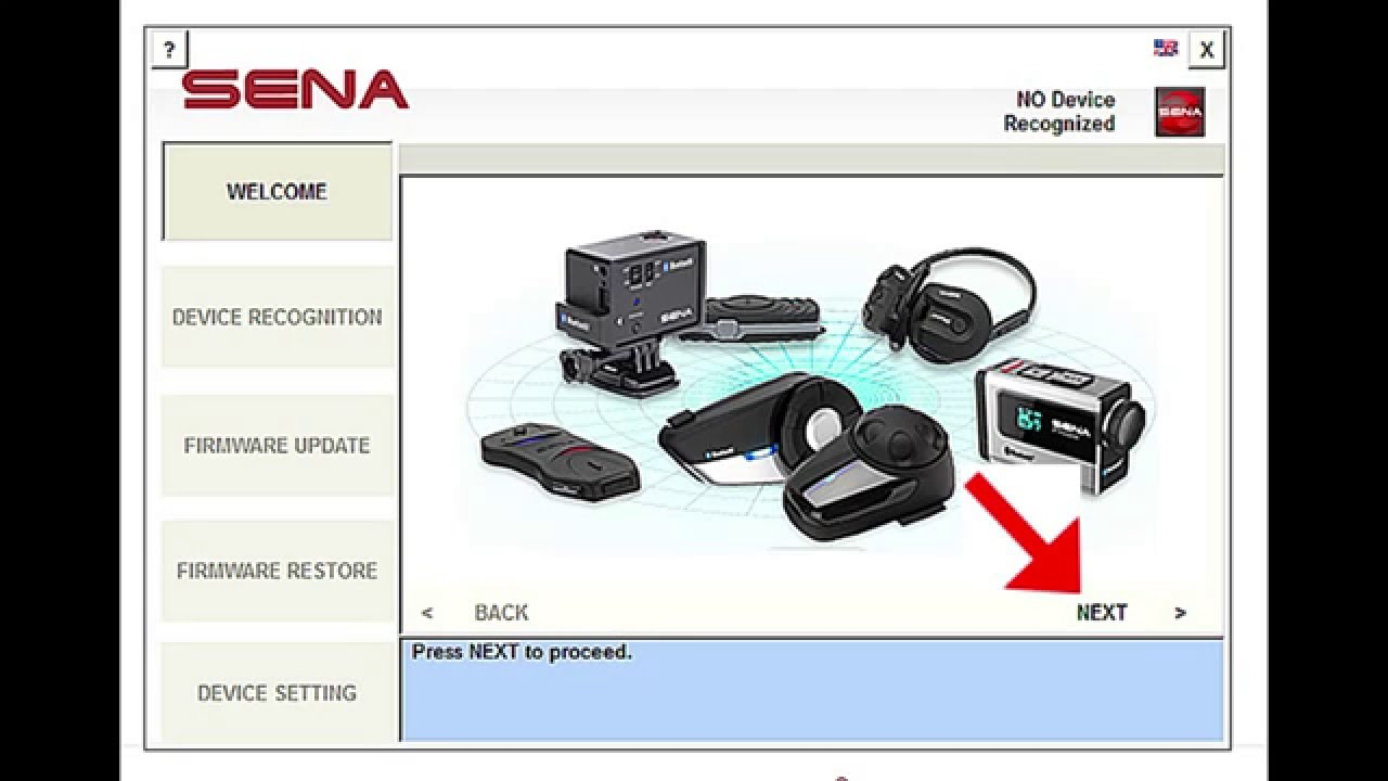 sena device manager