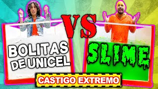 SLIME vs BOLITAS DE UNICEL - RETO - LOS RULES