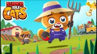 Super Idle Cats Tap Farm - Android Gameplay FHD