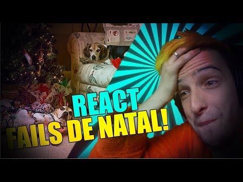 REACT AOS MAIORES FAILS DE NATAL