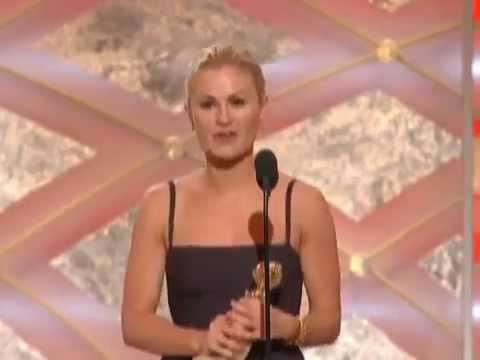 Anna Paquin Wins Best Actress TV Series Drama   Golden Globes 2009