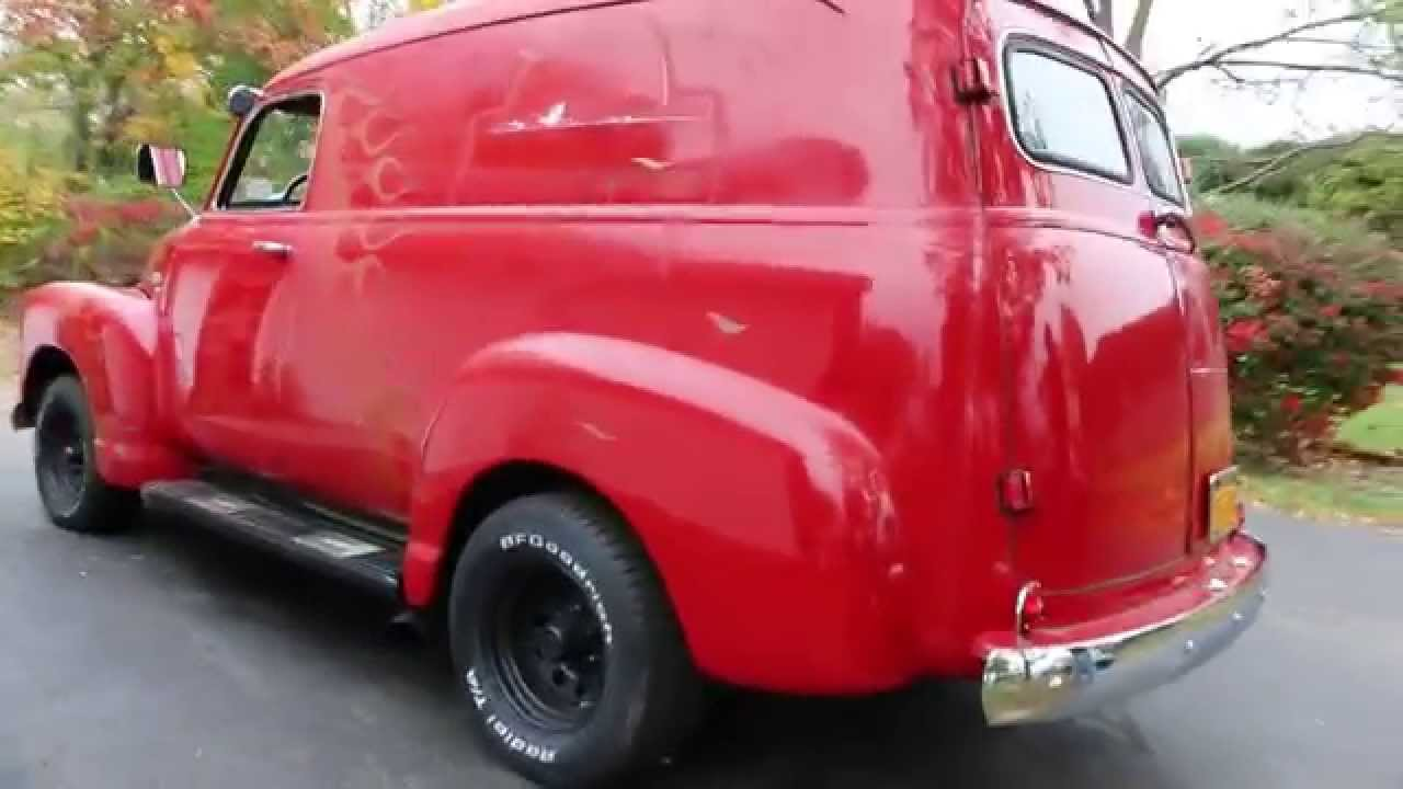 1950 Chevrolet 3100 Panel Delivery Truck For Sale~350~Automatic~Very ...