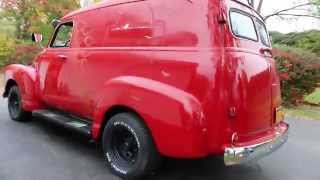 1950 Chevrolet 3100 Panel Delivery Truck For Sale~350~Automatic~Very Solid Project