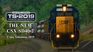 New CSX EMD SD40-02s in Train Simulator 2019