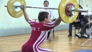 Молодежный чемпионат Йыхви по тяжелой атлетике.