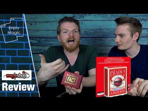 Chaos 2 (Mark Elsdon) & FACT (Caleb Wiles) || Enjoy Magic Review