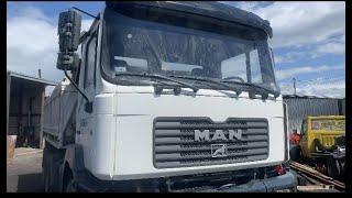 Man po wypadku #man#wywrotka#ciezarowka#kiper#