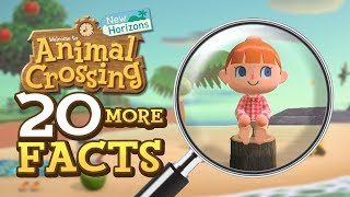 20 More Facts About Animal Crossing New Horizons on Switch