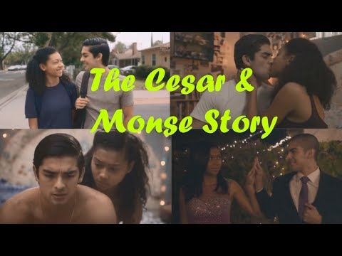 The Cesar and Monse story from On my Block (Seasons 1 and 2)
