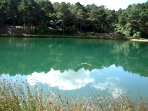 The Blue Pool Furzebrook Dorset Youtube