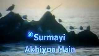 surmai akhiyon mein (karaoke) by anna