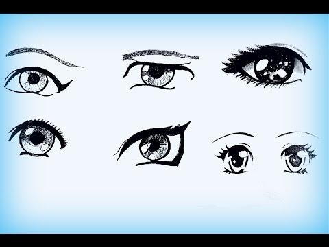 Как нарисовать красивую девушку карандашом поэтапно Как