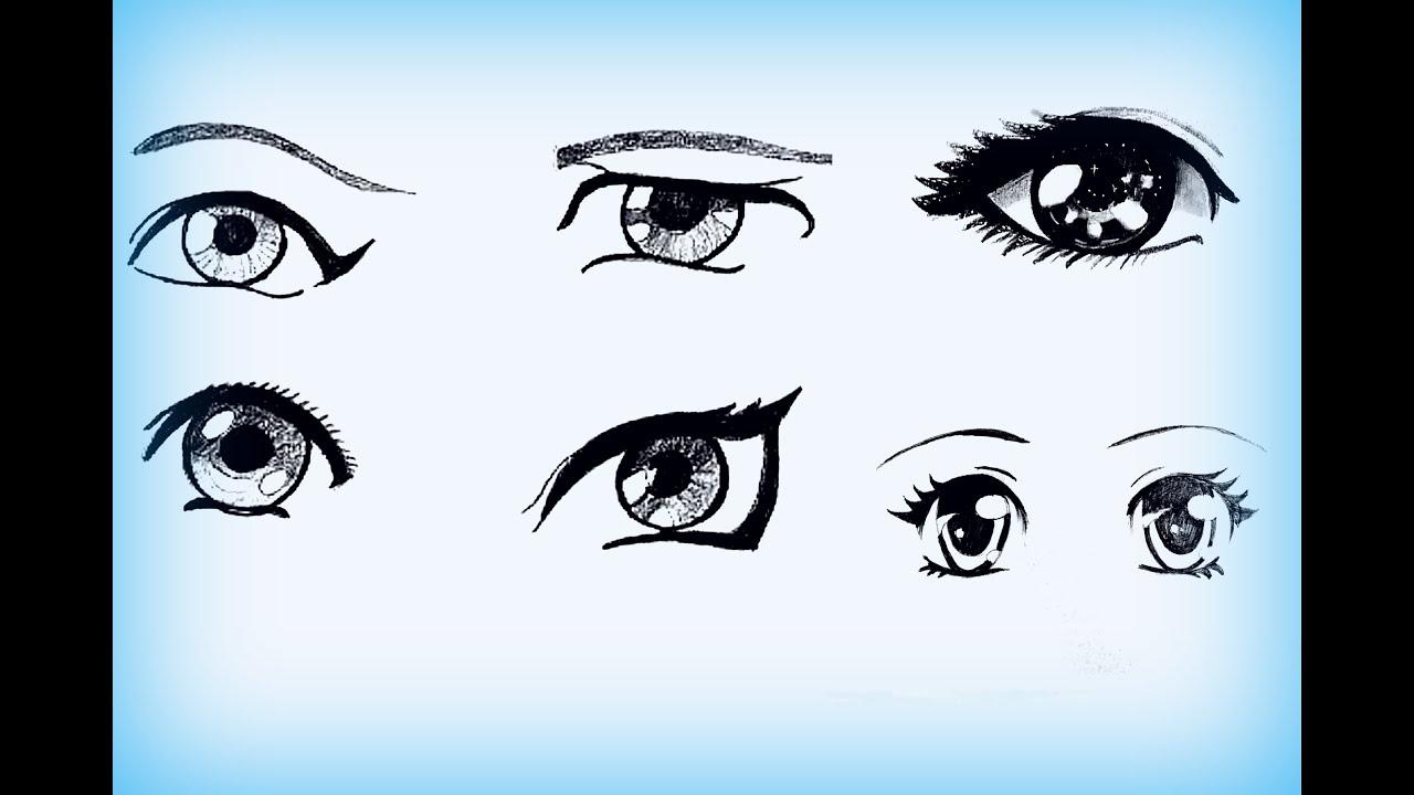 Легкий способ нарисовать красивую девушку аниме