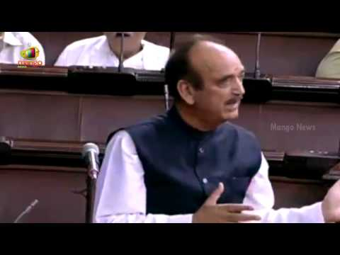 Congress Ghulam Nabi Azad pulls leg of Modi government in comical speech in Parliament
