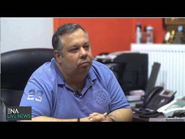 ENA LIVE NEWS | O Μάκης Ψάρρας στο ENA CHANNEL