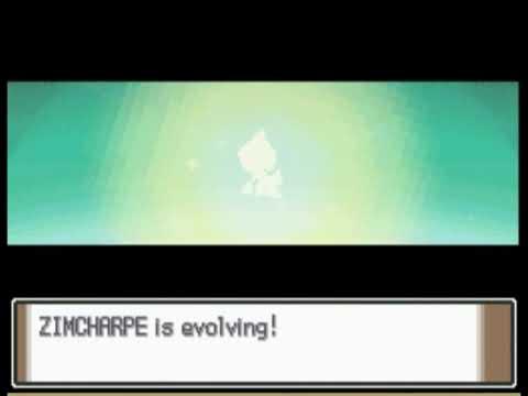 My Chimchar Evolves Into Monferno In Pokemon Platinum Youtube