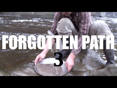 GOLD PANNING in BEAUCE, QUEBEC!