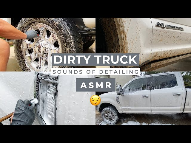 DIRTY Truck Detail | ASMR Sounds of Detailing