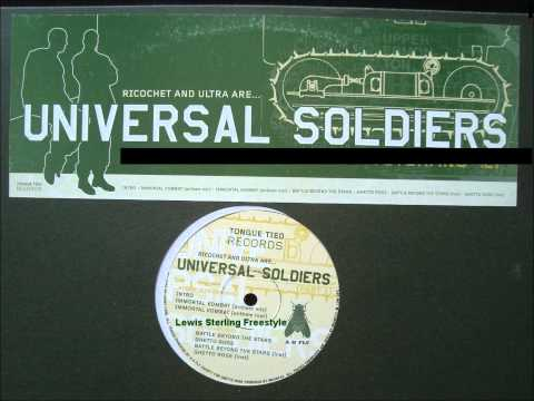 Universal Soldiers - Lewis Sterling Freestyle