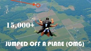 (OMG MUST WATCH) DARED to go SKYDIVING!!!!! | I dare YOU to...