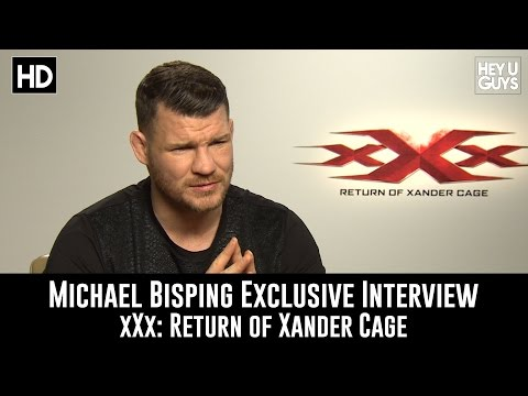Michael Bisping Exclusive Interview - xXx: Return of Xander Cage