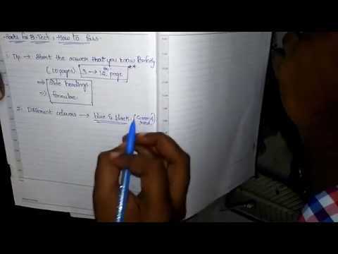 How to pass exams in btech without backlog   - YouTube