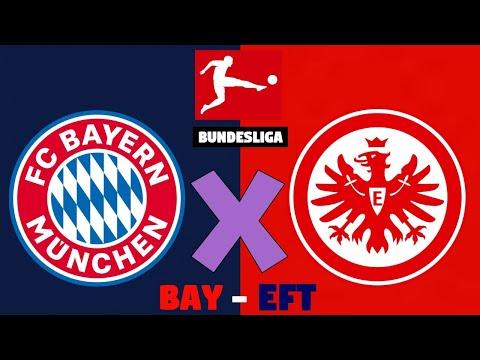 Bayern de Munique x Eintracht Frankfurt Ao Vivo | Campeonato Alemão 2020
