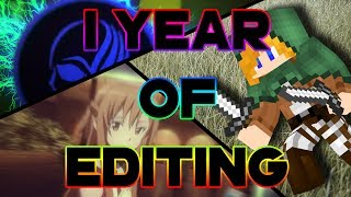 My all edits in chronological order // 1 year of editing! // Sukra!