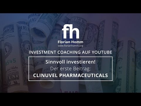 Florian Homm Investment-Coaching #1: Clinuvel Pharmaceuticals exklusiv. Die Chance.