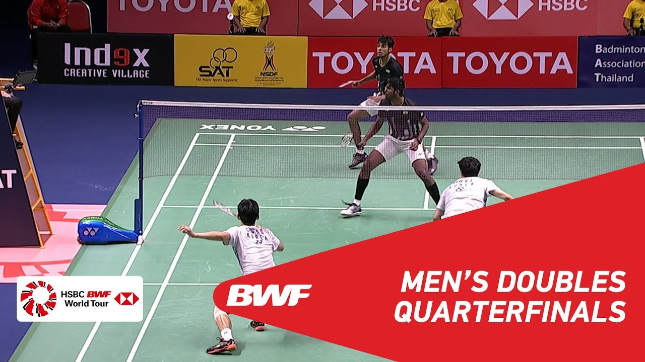Indian badminton doubles pair march through to last four of