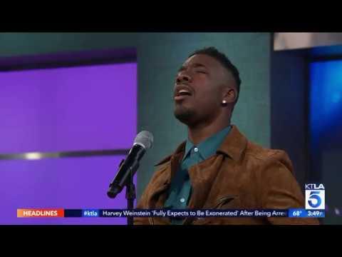 American Idol's Marcio Donaldson Performs on KTLA 5 News at 3pm