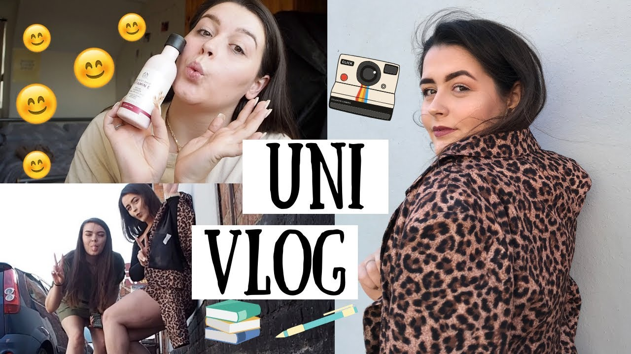 UNI VLOG | Shoot Day, Organising my Week & Mini Skincare Routine!