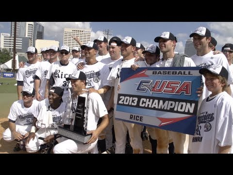 The Rice Owls win the 2013 Conference USA Tournament