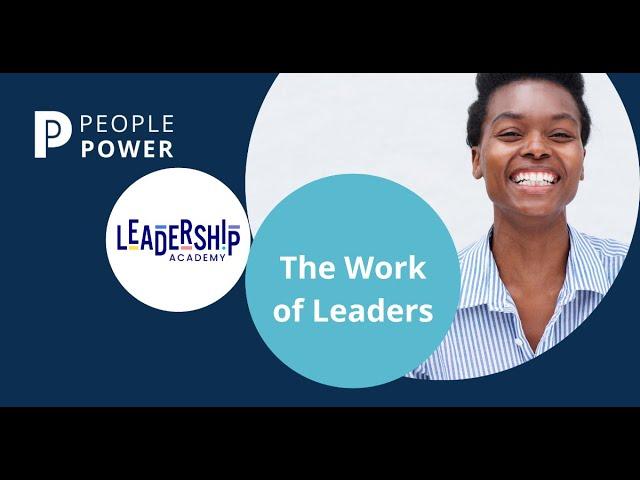 Training Workshop|The Work of Leaders | Dianne Sharp