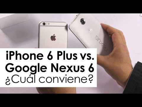 iPhone 6 Plus vs. Nexus 6 ¿cuál conviene?