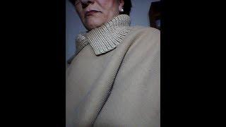 Cómo hacer un abrigo en 20 minutos!!! Sin coser!!1ra. Parte