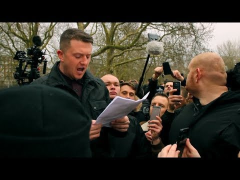 Tommy Robinson / The Martin Serlner Speech /  Violence in the Park | Speakers Corner