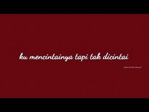 Cukup Tau - Rizky Febian (Lirik)