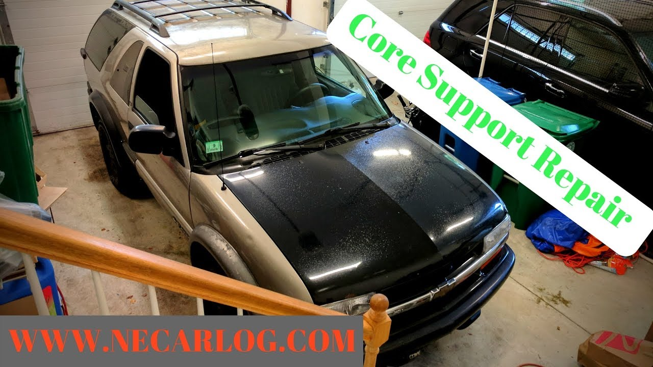 Zr2 S10 Blazer Radiator Support Repair
