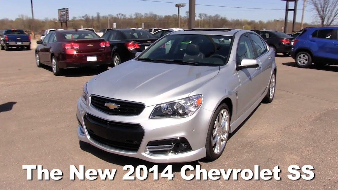 Review: The New 2014 Chevrolet SS Sports Sedan Minneapolis, St Cloud, Cold  Spring, Willmar, MN