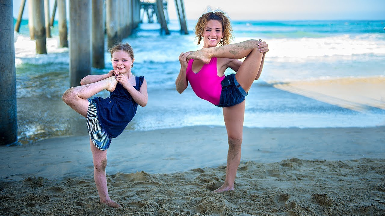 Sofie dossi teaches my daughter contortion youtube - Sofie dossi gymnastics ...