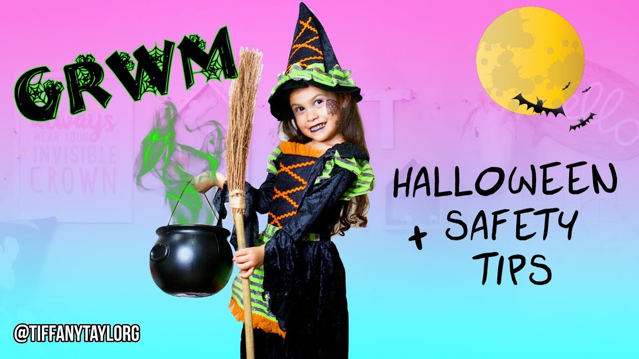 Grwm Halloween Diy Witch Makeup Halloween Safety Tips For Kids Trick Or Treating Youtube 12:07 katherine rose recommended for you. grwm halloween diy witch makeup halloween safety tips for kids trick or treating