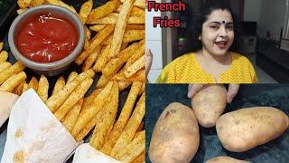 Crispy French Fries Recipe  Homemade Crispy Fries Recipe  How to make Crispy French Fries At Home