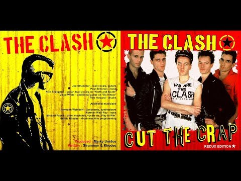 The Clash - Cut The Crap Redux Addition
