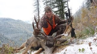 Mule deer hunt 540yd shot - Stuck N the Rut 10