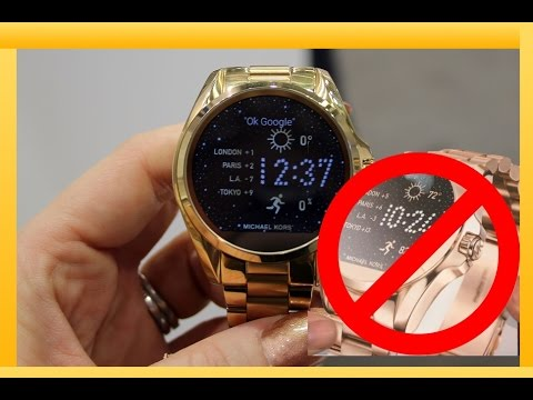 d6a95f038e02 Michael Kors Smart Watch Unboxing and Review DRAMA ( PART 1 ) - YouTube