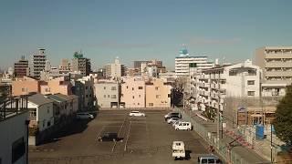 【車窓とアナウンス】〜智頭急行HOT7000スーパーはくとチラ見しつつ出発〜