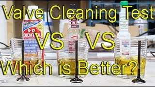 valve cleaner test   b 12 chemtool vs gumout vs lucas oil