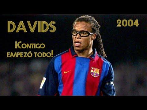EDGAR DAVIDS  ficha por el FC Barcelona (2004)
