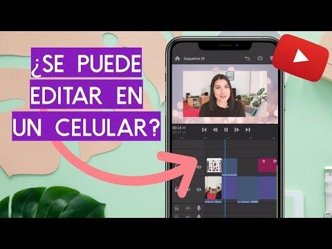 LAS MEJORES APPS PARA EDITAR VIDEOS DE YOUTUBE (6 Editores Para Celulares Android y iPhone)